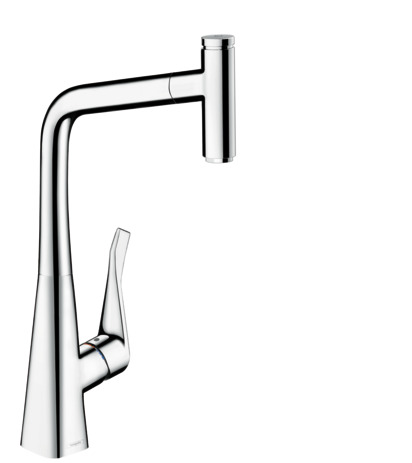 Metris Select 1-Spray HighArc Kitchen Faucet, Pull-Out, 1.75 GPM