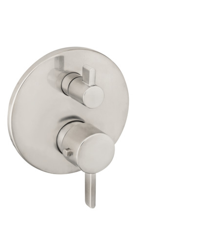 S Thermostatic Trim with Volume Control and Diverter