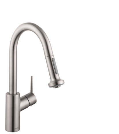 Talis S 2-Spray Prep Kitchen Faucet, Pull-Down