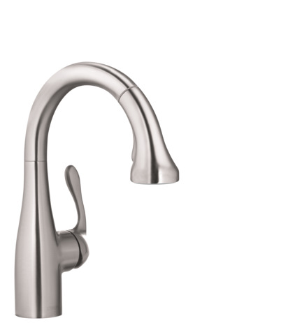 Allegro E Gourmet 2-Spray Prep Kitchen Faucet, Pull-Down