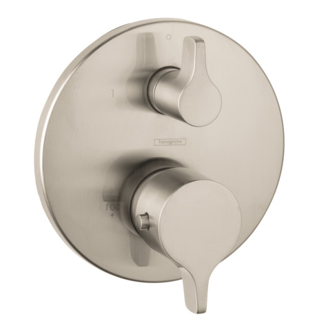 S/E Thermostatic Trim with Volume Control and Diverter