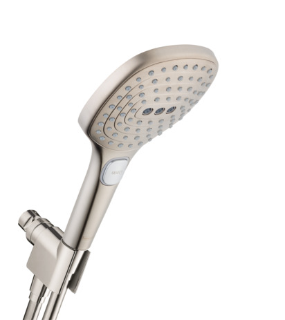 Raindance Select E 120 AIR 3-Jet Handshower Set, 2.0 GPM