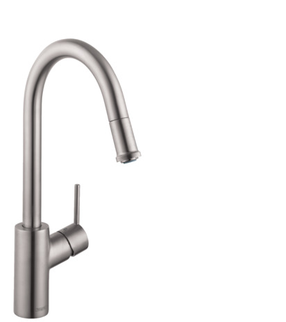 Talis S 1-Spray HighArc Kitchen Faucet, Pull-Down