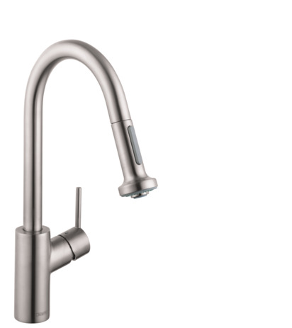 Talis S 2-Spray HighArc Kitchen Faucet, Pull-Down