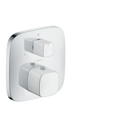 PuraVida Thermostatic Trim with Volume Control and Diverter