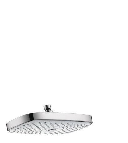 Raindance Select E 300 AIR 2-Jet Showerhead, 2.5 GPM