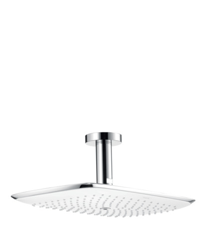 PuraVida 400 AIR 1-Jet Showerhead with Ceiling Mount, 2.5 GPM