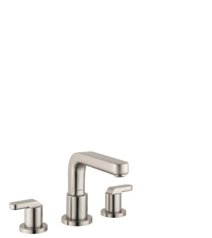 Metris S 3-Hole Roman Tub Set Trim with Lever Handles