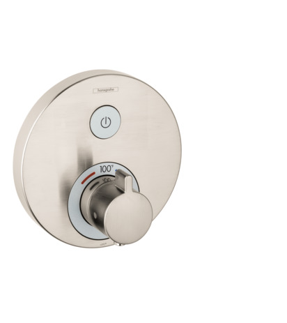 Thermostatic Trim for 1 Function, Round