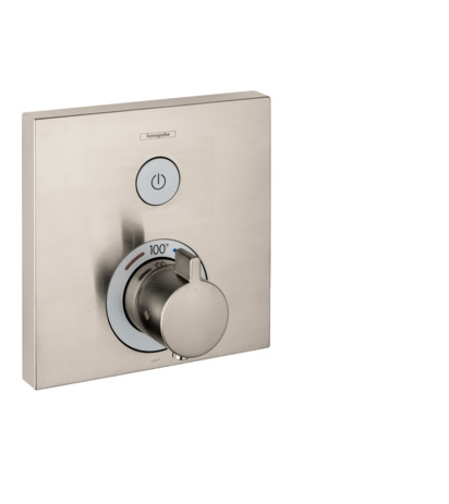 Thermostatic Trim for 1 Function, Square