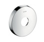 Extension escutcheon round - single hole