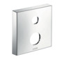 Extension escutcheon square 2-hole