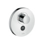 ShowerSelect thermostatic mixer highflow Round for 1 outlet and additional outlet for concealed installation
