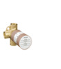 Basic set for Trio shut-off/ diverter valve for concealed installation