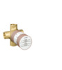Basic set for Quattro four-way diverter valve for concealed installation
