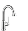 Talis C 2-Spray HighArc Kitchen Faucet, Pull-Down