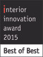 Interior Innovation Award - Best of Best 2015