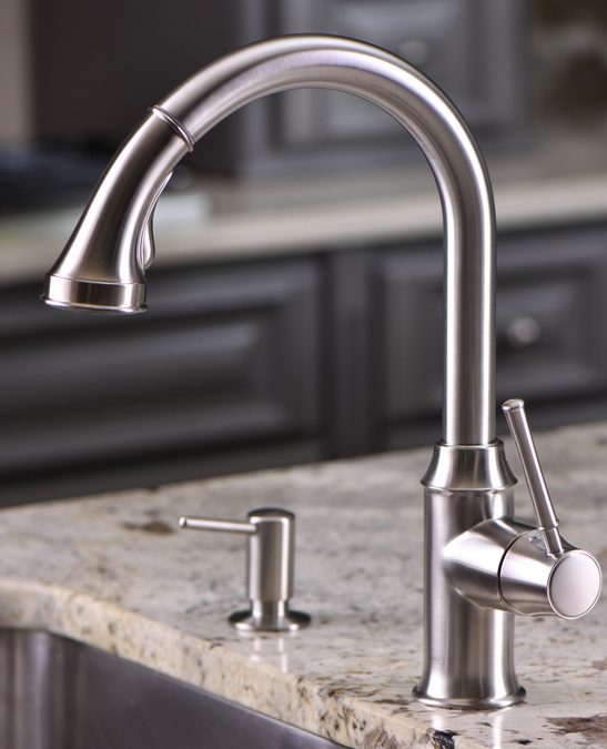 hansgrohe kitchen faucets: talis c, talis c 2-spray higharc