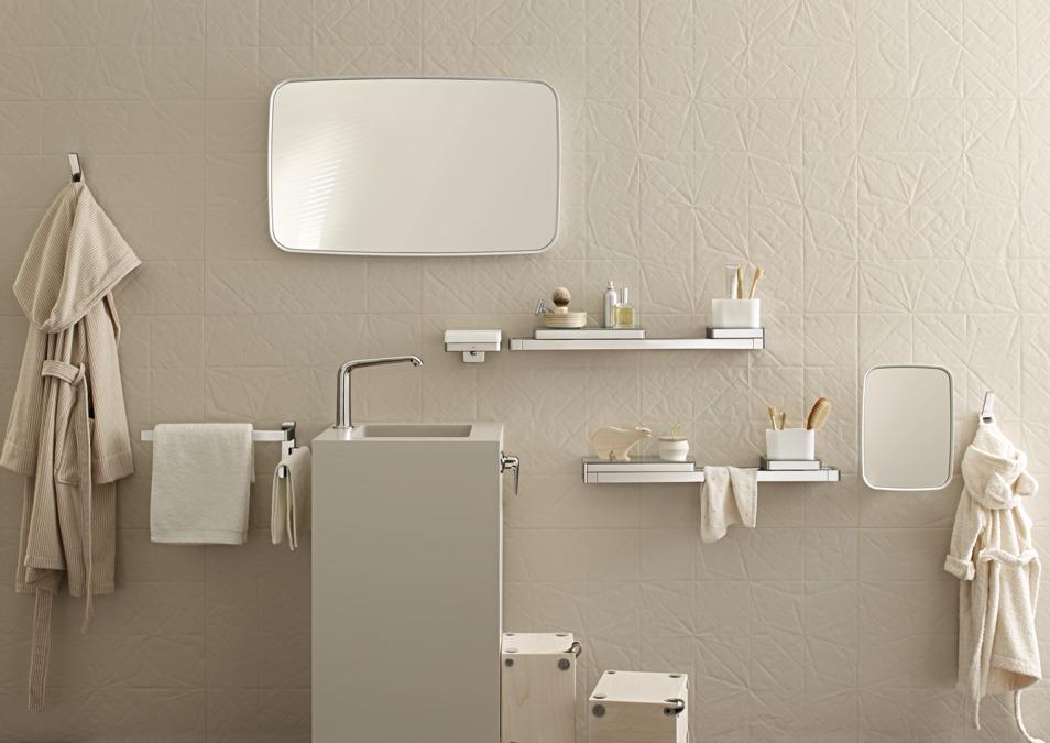 rail bath towel holder 800 mm - Bathroom Towel Holder