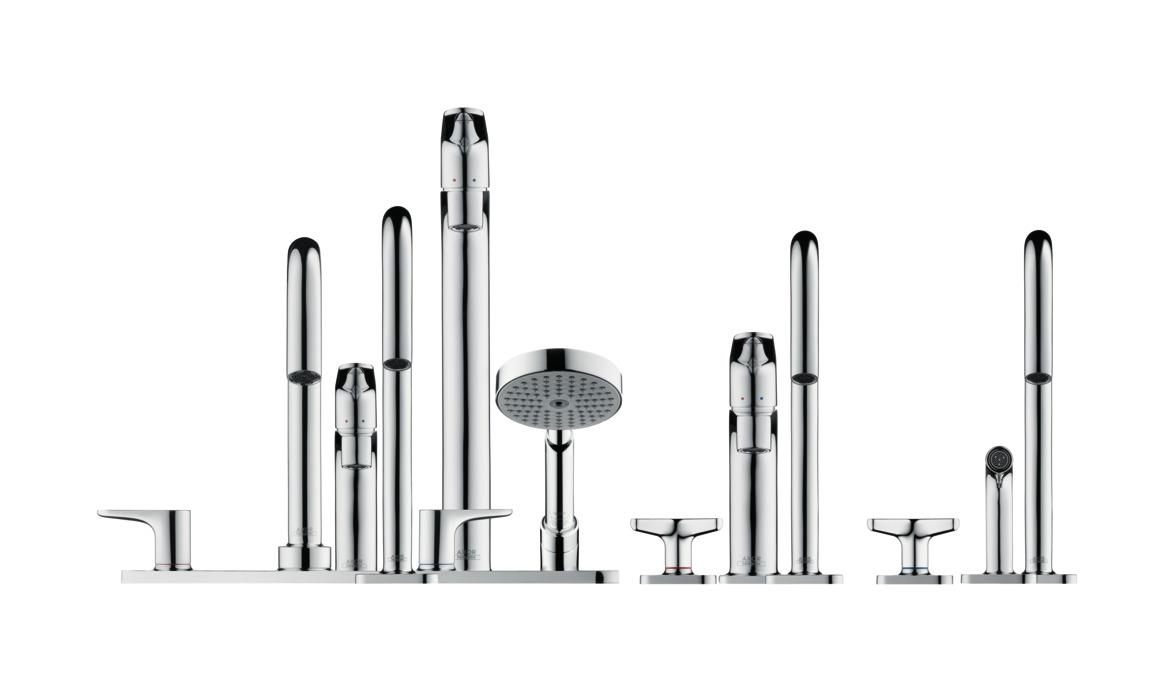 axor citterio m waschtischmischer zweigriff chrom art nr 34133000. Black Bedroom Furniture Sets. Home Design Ideas