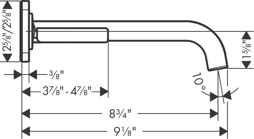 AXOR Citterio E Washbasin faucets: chrome, 36106001