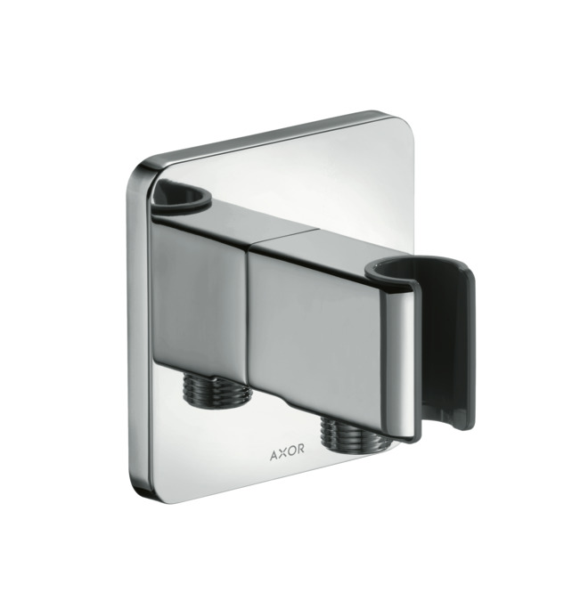 axor wall outlet axor urquiola porter shower support and wall outlet item no 11626000. Black Bedroom Furniture Sets. Home Design Ideas