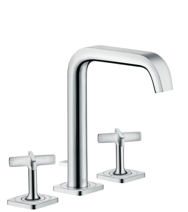 axor citterio e washbasin mixers two handle chrome item. Black Bedroom Furniture Sets. Home Design Ideas