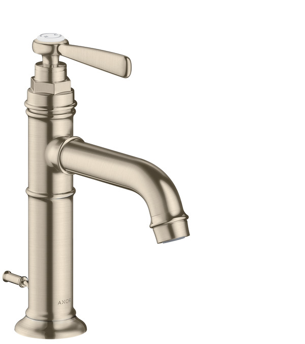 Axor Montreux Washbasin Faucets Brushed Nickel 16515821