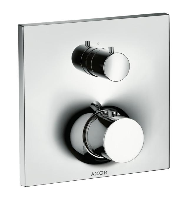 Axor Massaud Shower Mixers Designed To Run 2 Outlets