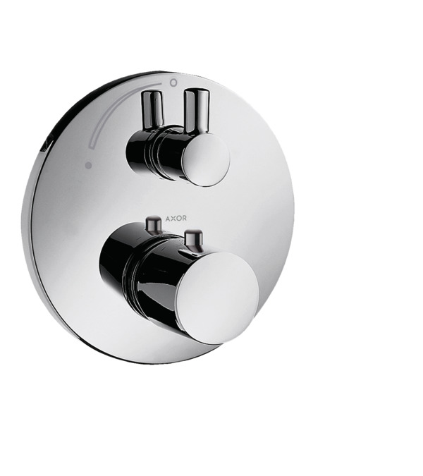 axor uno shower mixers designed to run 1 outlet chrome. Black Bedroom Furniture Sets. Home Design Ideas