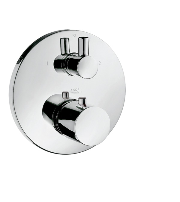 axor uno shower mixers designed to run 2 outlets chrome item no 38720000. Black Bedroom Furniture Sets. Home Design Ideas