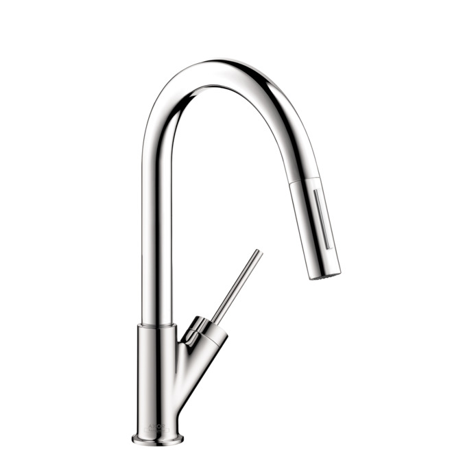 Bon AXOR Starck 2 Spray Prep Kitchen Faucet, Pull Down, 1.75 GPM