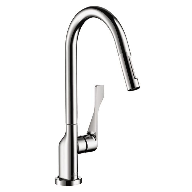 AXOR Kitchen faucets: AXOR Citterio, AXOR Citterio 2-Spray HighArc ...