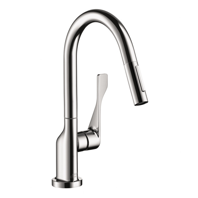 amazing Axor Citterio Kitchen Faucet #6: Axor Citterio 2-Spray Prep Kitchen Faucet, Pull-Down