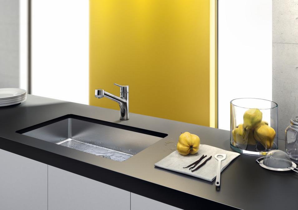 Küchenmischer Mit Ausziehbrause ~ hansgrohe küchenmischer talis s, einhebel küchenmischer mit ausziehbrause, art nr 32841000