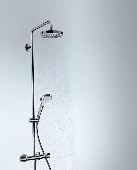 hansgrohe shower pipes croma select s 2 spray modes 27253400. Black Bedroom Furniture Sets. Home Design Ideas
