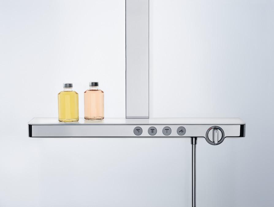 hansgrohe showerpipes rainmaker select 3 strahlarten 27029400. Black Bedroom Furniture Sets. Home Design Ideas
