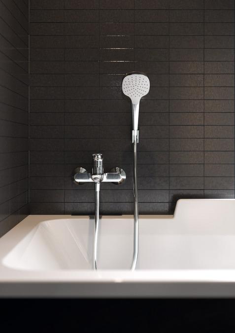 hansgrohe brausesets croma select e brausehalterset 1jet. Black Bedroom Furniture Sets. Home Design Ideas