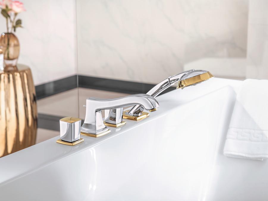 Vasca Da Bagno Con Rubinetteria Integrata : Metropol classic rubinetteria vasca utenze cromo