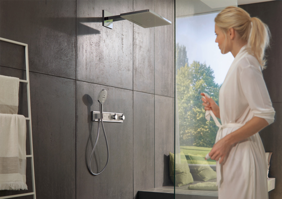 hansgrohe Overhead showers: Rainmaker Select, 3 spray modes, 24017400