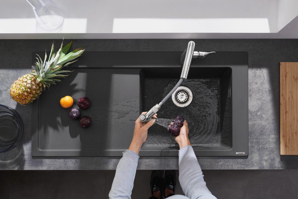Küchenmischer Mit Ausziehbrause ~ hansgrohe küchenmischer m71, m7116 h220 einhebel küchenmischer mit ausziehbrause, 73800000