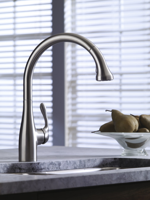 superb Hansgrohe Allegro E Gourmet Pull Down Kitchen Faucet #7: Allegro E Gourmet 2-Spray SemiPro Kitchen Faucet, Pull-Down