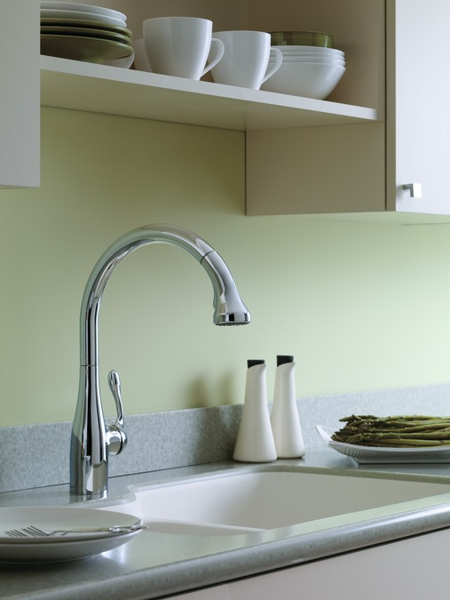 awesome Hansgrohe Allegro Kitchen Faucet #9: Allegro E Gourmet 2-Spray SemiPro Kitchen Faucet, Pull-Down