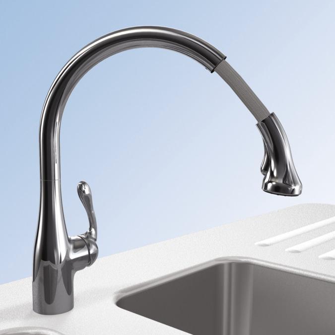hansgrohe kitchen faucets allegro e gourmet allegro e