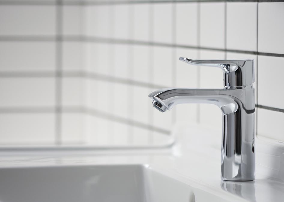 metris washbasin faucets single lever chrome 31080001. Black Bedroom Furniture Sets. Home Design Ideas
