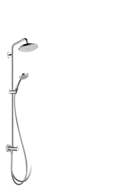 Hansgrohe showerpipes croma 1 strahlart 27224000 - Hansgrohe croma 220 ...
