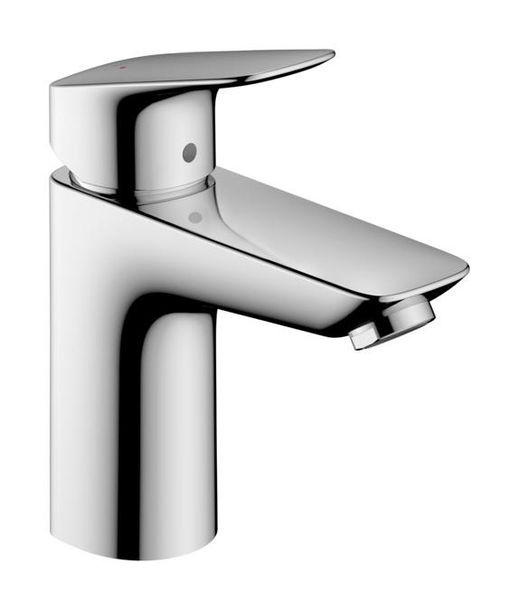 Logis grifer a de lavabo monomando cromo ref 71100000 for Griferia hansgrohe