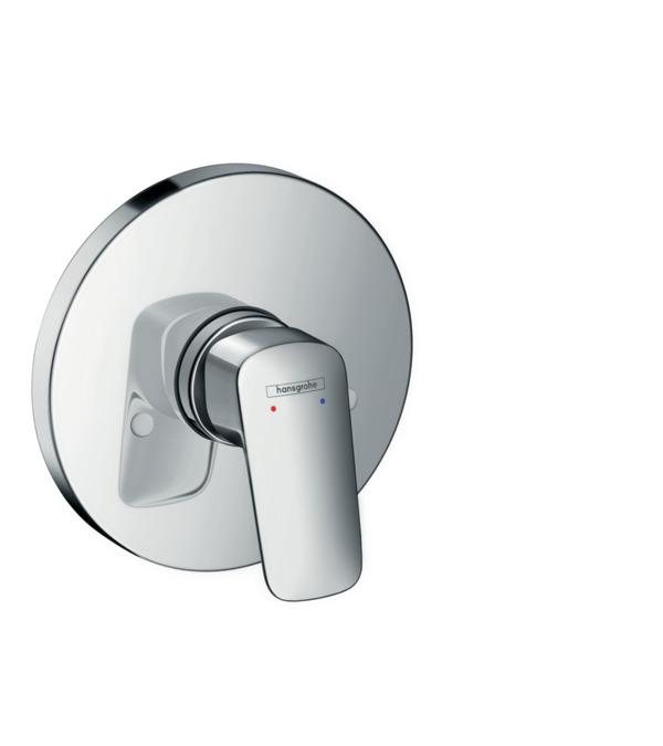 Logis Shower Mixers Single Lever 1 Outlet Chrome 71606000