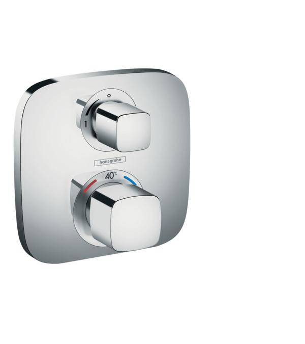 ecostat e shower mixers designed to run 1 outlet chrome. Black Bedroom Furniture Sets. Home Design Ideas