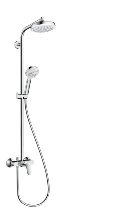 Cool hansgrohe Shower pipes: Crometta, 1 spray mode, 27266400 TQ09
